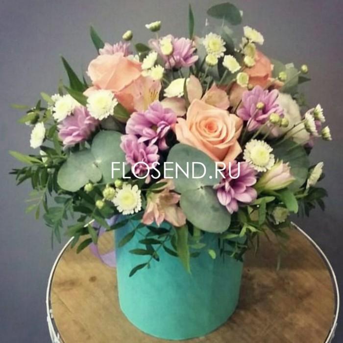 Цветы в коробке № 246